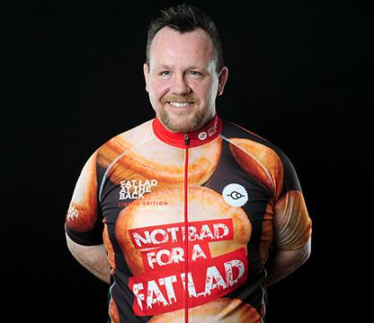 Fat Lad at the Back - cycling kit - featured